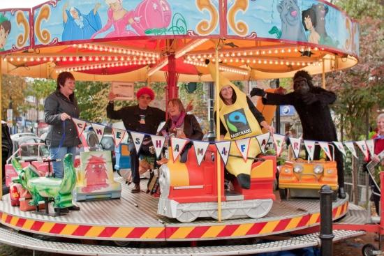 Steering group Fairground 550w